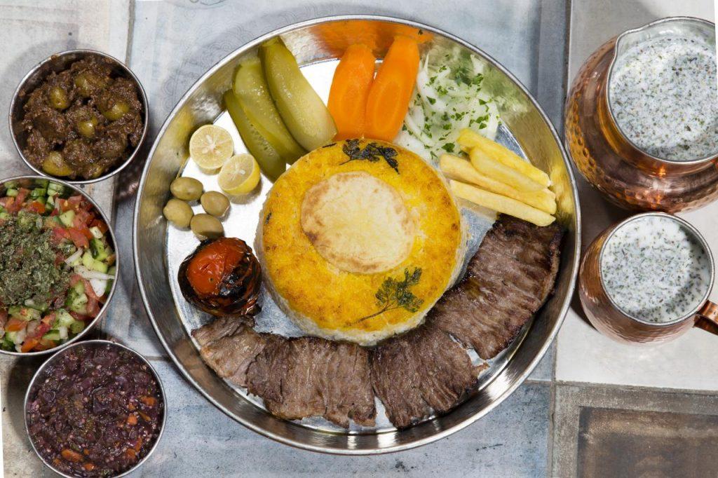 کباب برگ رستوران مسین